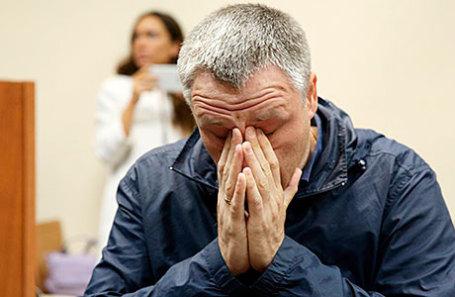 Отец погибшего мальчика Роман Шимко.