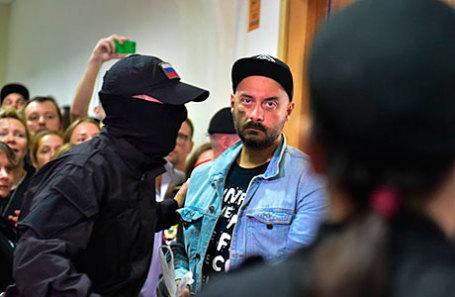 Художественный руководитель «Гоголь-центра» Кирилл Серебренников в Басманном суде.