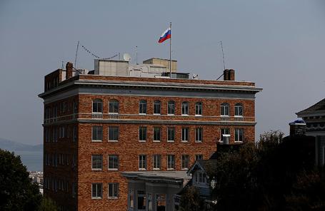 Консульство России в Сан-Франциско.
