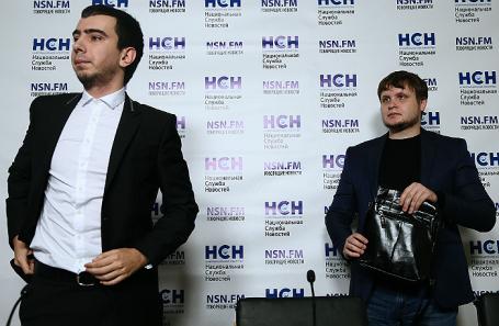 Пранкеры Владимир Краснов «Вован» и Алексей Столяров «Лексус» (слева направо).