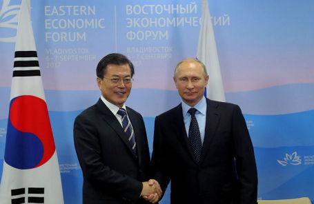 Путин: РФ  принципиально непризнаёт ядерный статус КНДР
