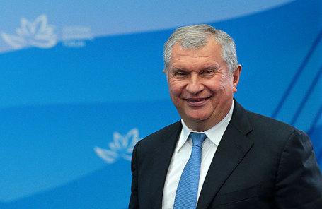 Президент-председатель правления НК «Роснефть» Игорь Сечин.