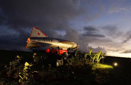 Деактивированная советская ракета в крепости Ла Кабана в Гаване.
