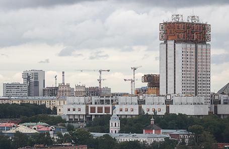 Здание РАН.