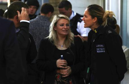 После взрыва в метро Лондона 15 сентября 2017 года.