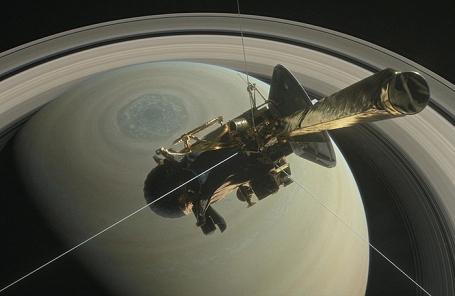 Автоматическая межпланетная станция «Кассини».