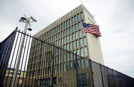 Посольство США в Гаване, Куба.