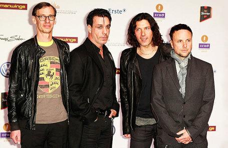 Группа Rammstein.