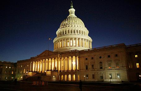 Капитолий в Вашингтоне, США.