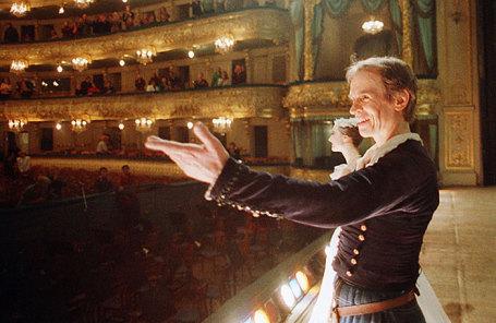 Знаменитый классический танцовщик  Рудольф Нуреев, 1989 год.