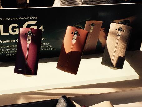 Флагманский смартфон G4 компании LG.