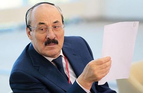 Глава Дагестана Рамазан Абдулатипов.