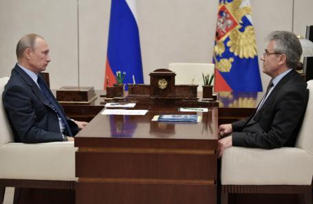 Владимир Путин и Александр Сергеев.