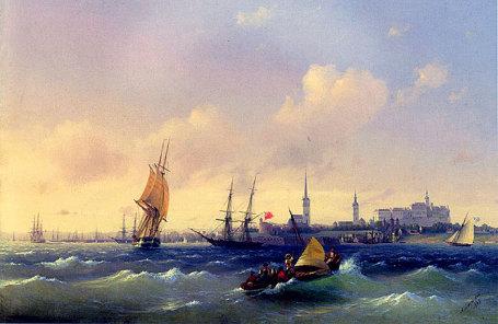 Иван Айвазовский, «Море», 1845.