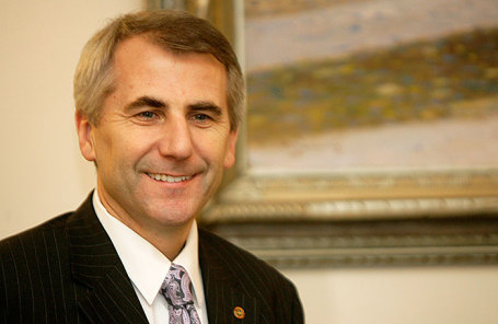 Посол ЕС , бывший министр иностранных дел Литвы Вигаудас Ушацкас.