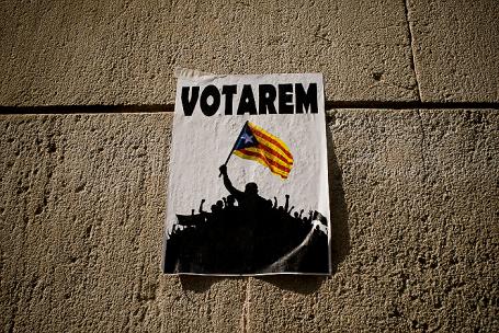 Каталония в преддверии референдума о независимости.