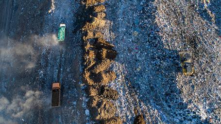 ВПушкинском районе закрыли мусорный полигон «Царёво»