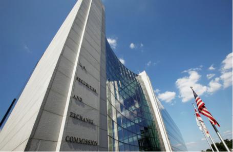 Штаб-квартира Комиссии США по ценным бумагам и биржам (SEC) в Вашингтоне.