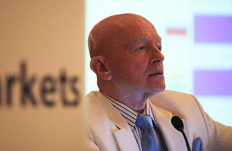 Исполнительный директор Templeton Emerging Markets Group Марк Мобиус.