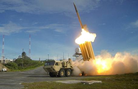 Американский мобильный противоракетный комплекс дальнего перехвата THAAD