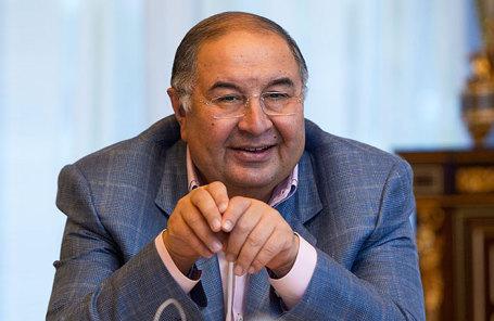 Бизнесмен Алишер Усманов.