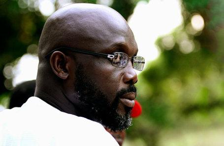 Либерийский политик Джордж Веа.