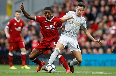 Матч «Ливерпуль» — «Манчестер Юнайтед».