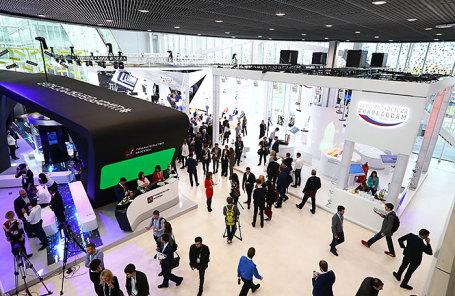 В «Сколково» стартовал междурнародный форум «Открытые инновации»
