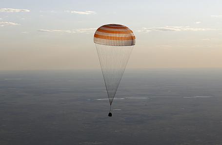 Спускаемый аппарат космического корабля «Союз».