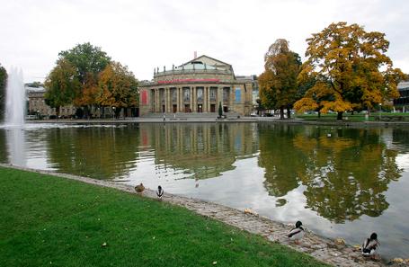 Здание Штутгартской оперы.