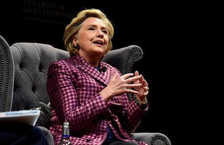 Хилари Клинтон.