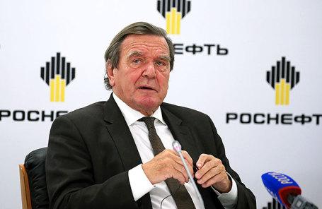 Экс-канцлер ФРГ Герхард Шредер.