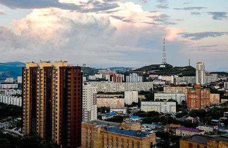 Виды Владивостока.