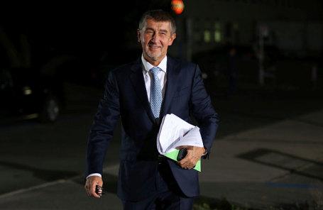 Экс-министр экономики Чехии и лидер партии ANO Андрей Бабиш.