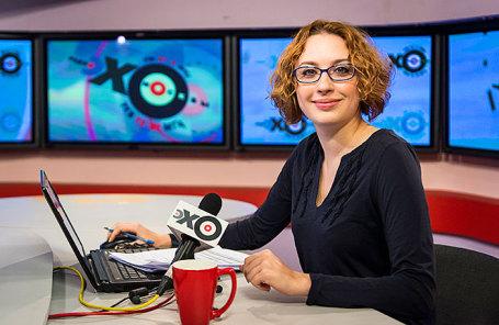 Журналистка Татьяна Фельгенгауэр.