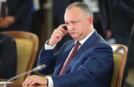 Президент Молдавии Игорь Додон.