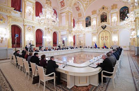 Путин проведёт 30октября совещание СПЧ вКремле