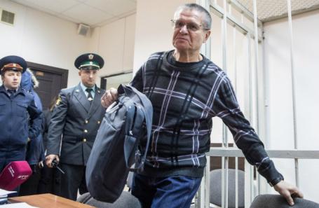 Алексей Улюкаев в суде 8 ноября.