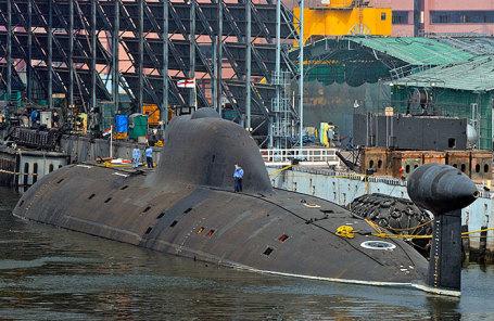 Подводная лодка INS Chakra.
