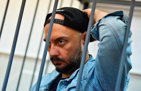 Режиссер Кирилл Серебренников, обвиняемый в мошенничестве в особо крупном размере.
