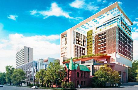 ВЭБ остановил финансирование строительства отеля Hyatt вРостове на1 млрд руб.