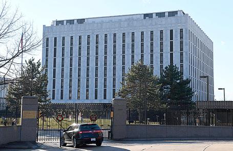Посольство России в Вашингтоне, США,