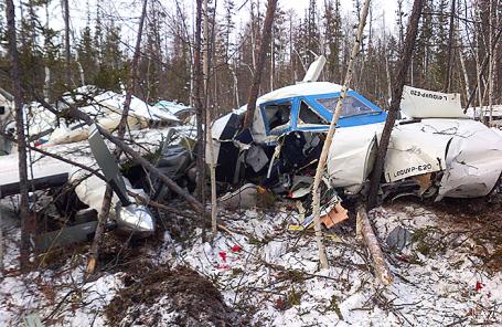 Крушение самолета L-410 в Хабаровском крае, 15 ноября 2017.