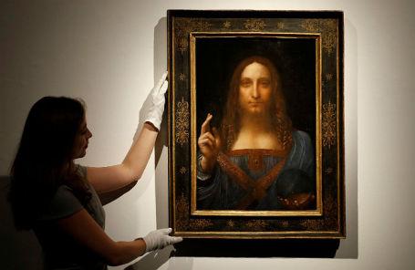 Картина Леонардо да Винчи «Спаситель мира».