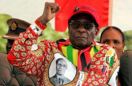 Президент Зимбабве Роберт Мугабе.