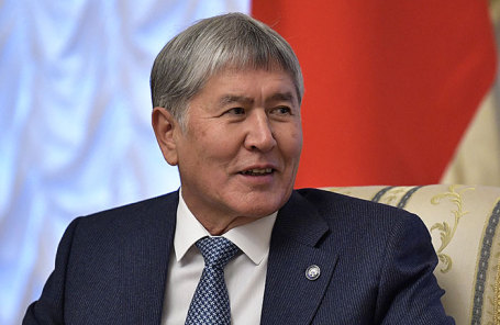 Президент Киргизии Алмазбек Атамбаев.