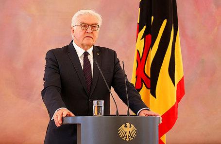 Президент ФРГ Франк-Вальтер Штайнмайер.