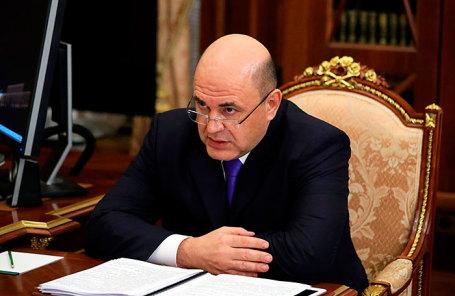Руководитель Федеральной налоговой службы (ФНС) РФ Михаил Мишустин.