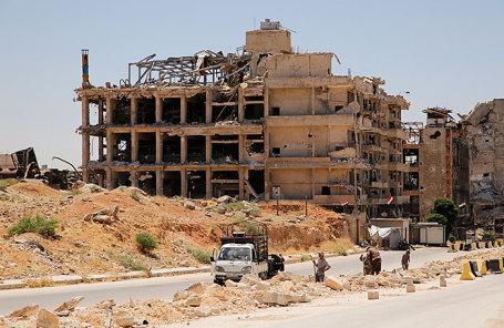 Город Алеппо.