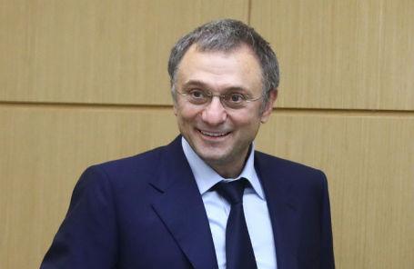 Сулейман Керимов на пленарном заседании Совета Федерации РФ.